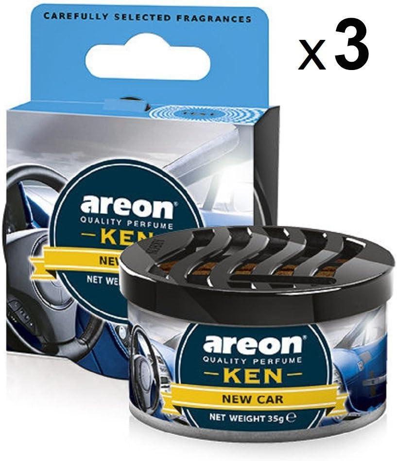 Amazon.es: AREON Ken Ambientador de Coche Nuevo New Car Olor Aroma ...