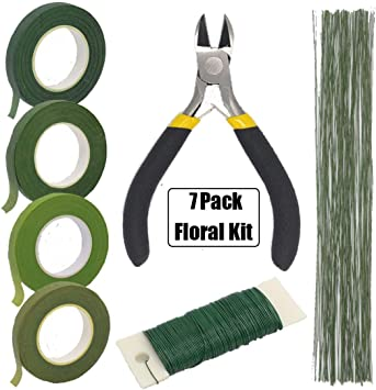 Fiveware - Kit de herramientas para arreglos florales, 3 rollos de ...