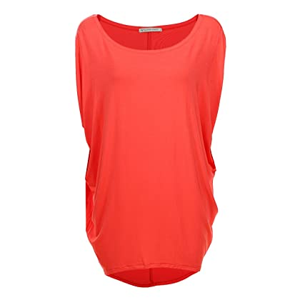 7ed822fe213 GLOSTORY Women s Casual Summer Off the Shoulder Tee Shirts Blouse Tops 1667  (S