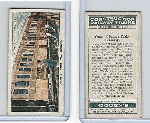 O2-140 Ogdens, Construction Trains, 1930, 50 Coats of Paint: Teak-Graining -