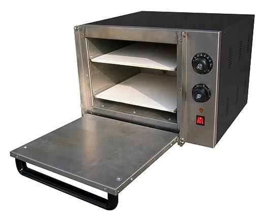 Horno pizza eléctrico pequeño - Maquinaria Bar Hostelería: Amazon ...