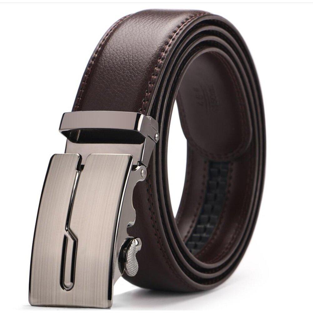 Soft Work Active Basic Leather Formal Belts XUEXUE Mens Belt,Automatic Buckle Belt Business Belt Stylish Adjustable Belt Work Clothes Uniforms Office Career Party