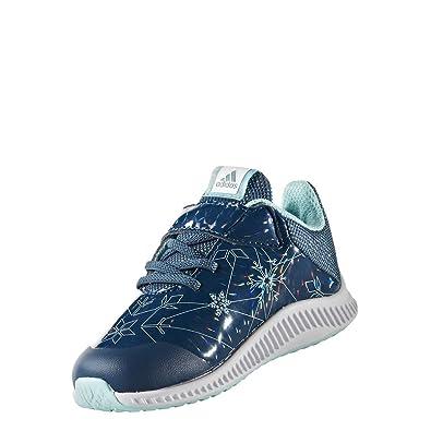 new style 6bc65 35c9d adidas Unisex Baby DY Frozen Fortarun EL I Sneaker (PetnocFtwblaAquene)