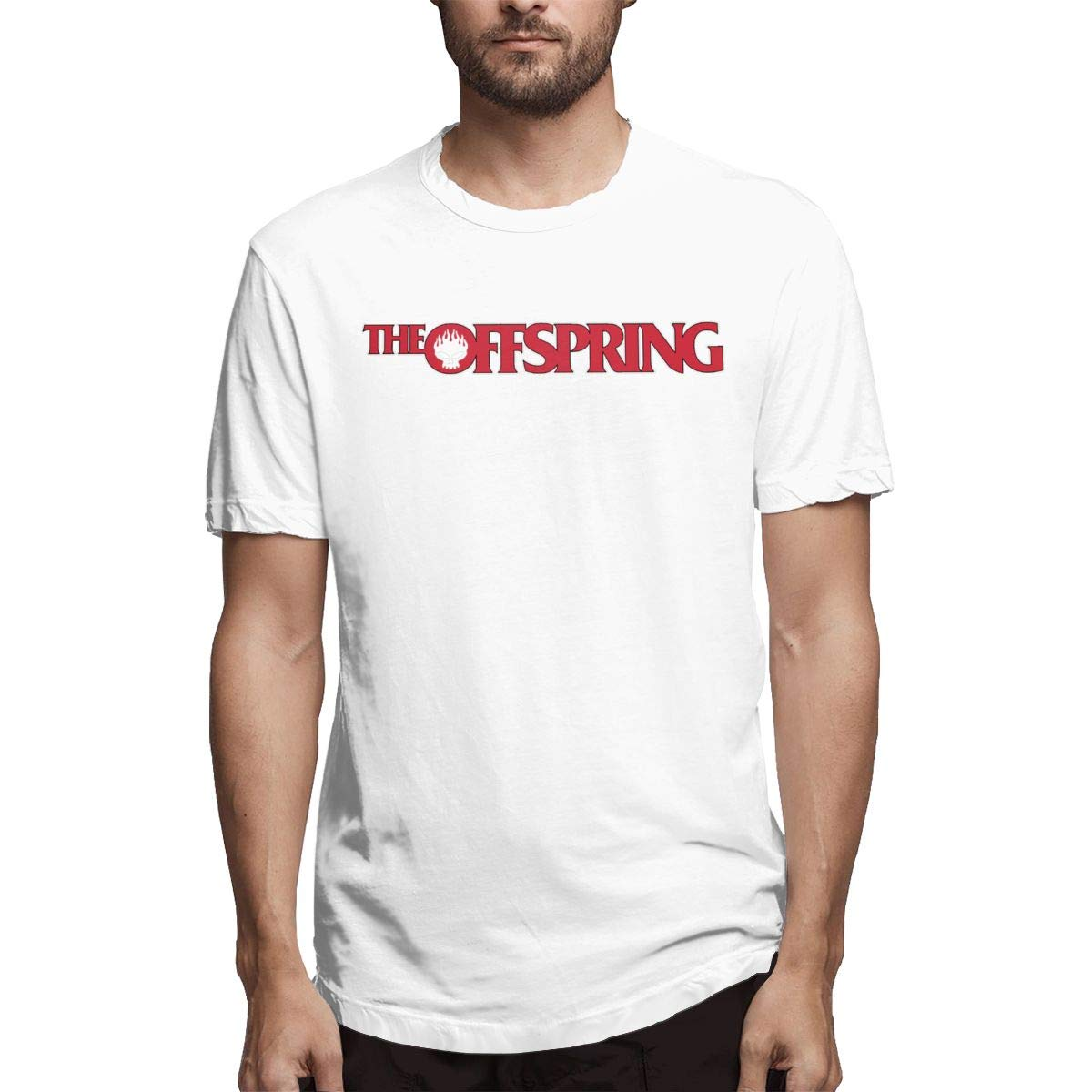 Smooffly S The Offspring Comfortable Crew Neck Short Sleeves Ts