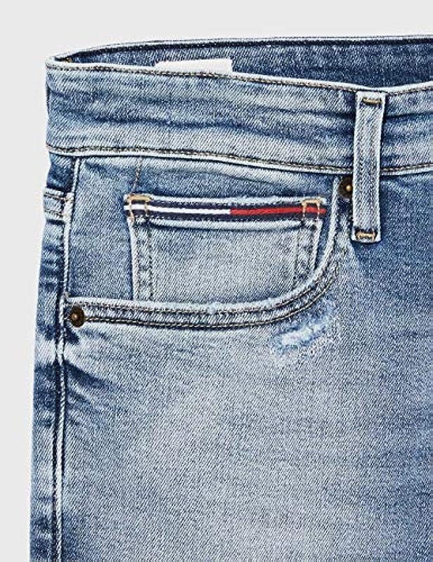 Tommy Jeans Simon Skinny Crbnl Straight dżinsy męskie: Odzież