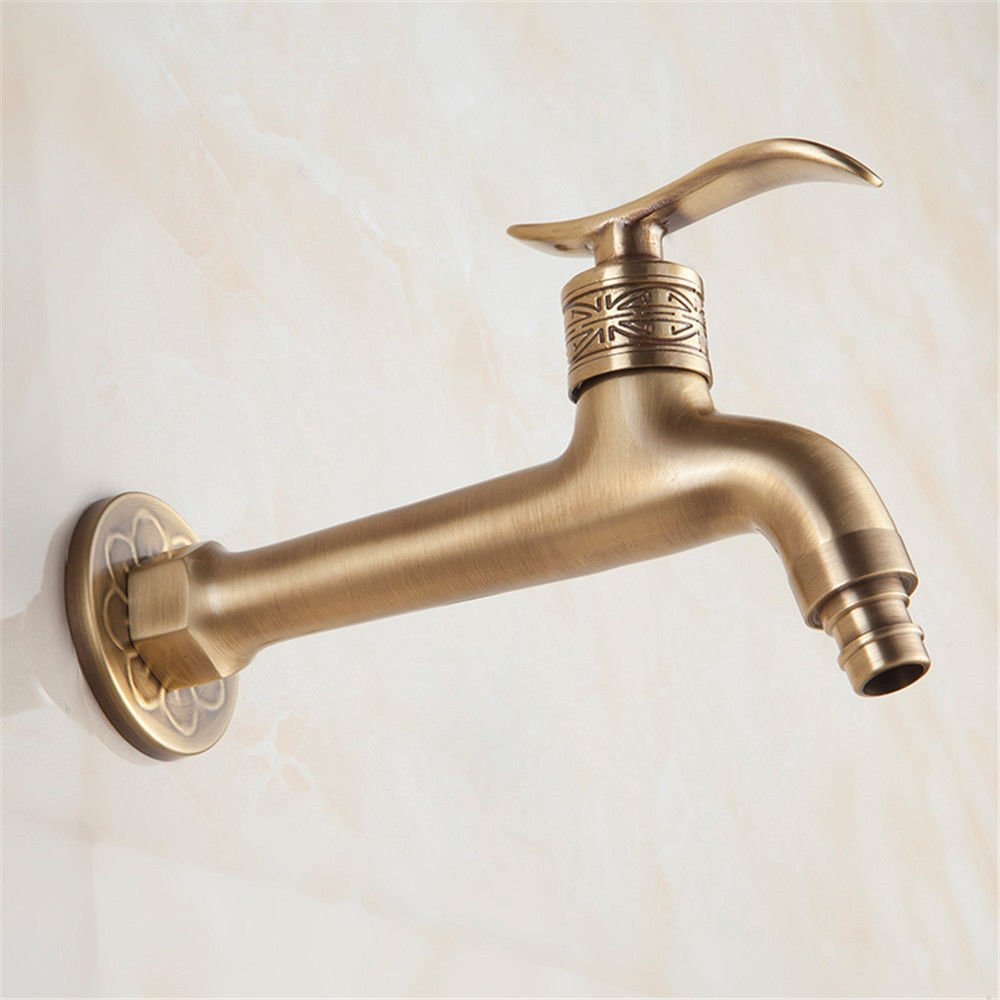 ETERNAL ETERNAL ETERNAL QUALITY Badezimmer Waschbecken Wasserhahn Messing Hahn Waschraum Mischer Mischbatterie Tippen Sie auf die messinghähne antiken Erweißerung, Waschmaschöne Hähne in a0f3aa
