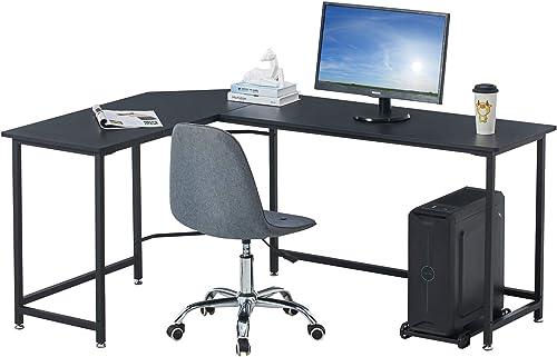 Liink1Ga L-Shaped Computer Desk Corner Desk