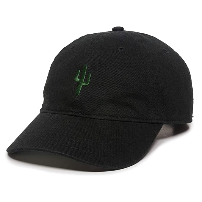 Image Unavailable. Image not available for. Color  Cactus Embroidered Dad  Hat - Adjustable Polo Style Baseball Cap ... 0e50f9408703