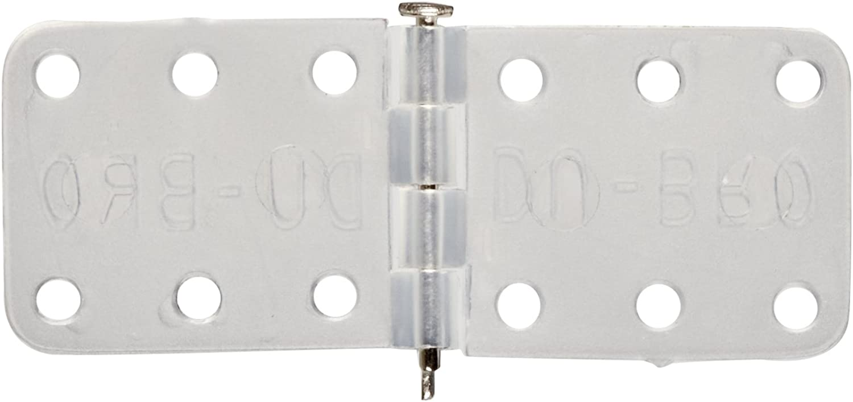 15-Pack Du-Bro 119 7//16 x 1-1//8 Small Nylon Hinge