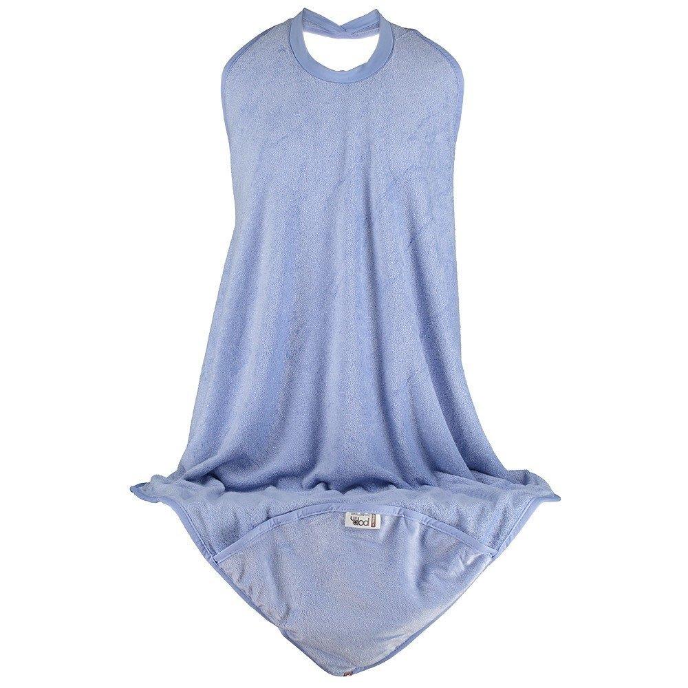 Close Pop-in 579235 delantal toalla de baño con capucha - Azul: Amazon.es: Bebé