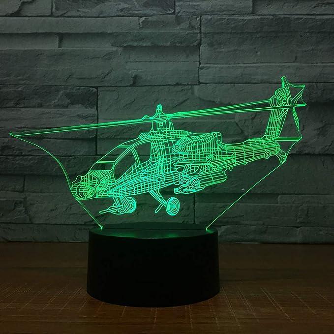 Avión Transbordador Universo 3D Lámpara Avión Luz de Noche ...