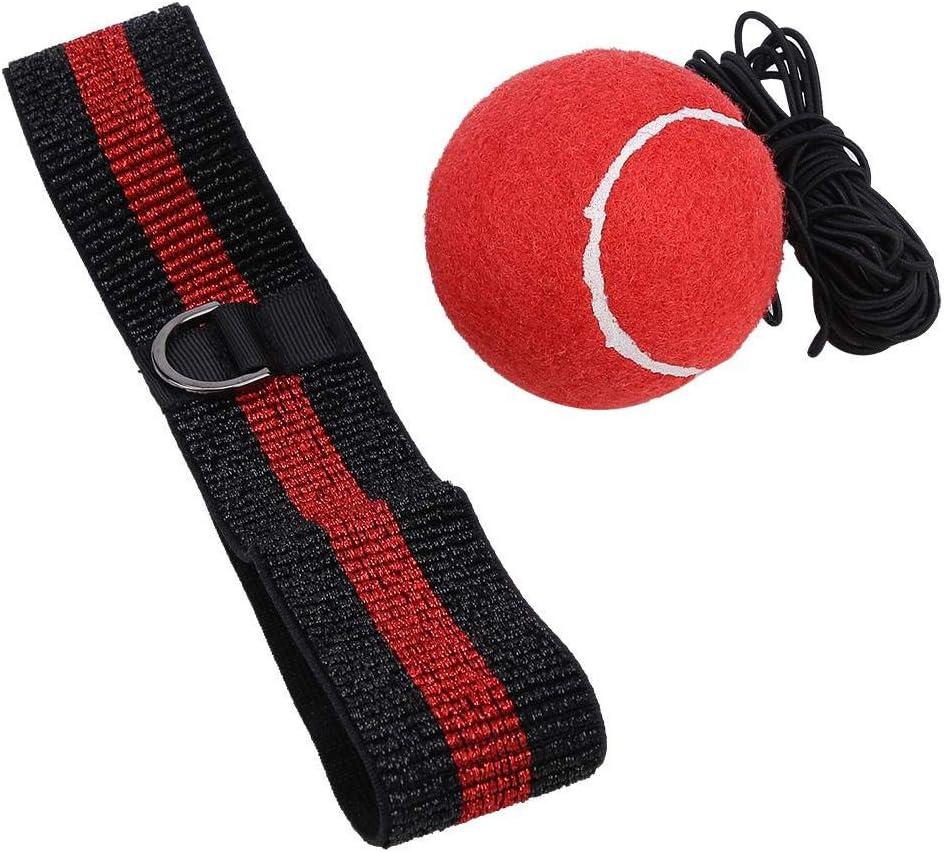 Alomejor Boxtraining Ball Reaktionskugel Geschwindigkeit Ball Kampf Dekompressionsball