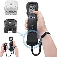 SunshineFace Remote Motion Plus-Sensor Controlleradapter + Siliconen Hoes Voor Nintendo Wii
