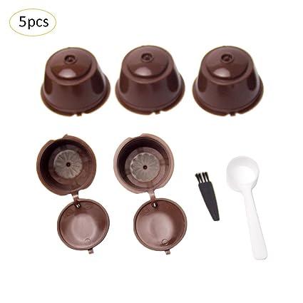Tasse réutilisable réutilisable de filtre de capsule de filtres à café
