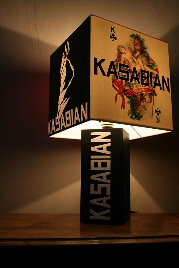 Handmade Kasabian Lamp empire Album Cover Lampshade Serge west ryder