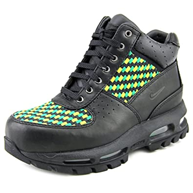 finest selection 826ad 4ad4b Amazon.com  Nike Air Max Goadome (GS) Youth Black Chukka Boot  Sneakers