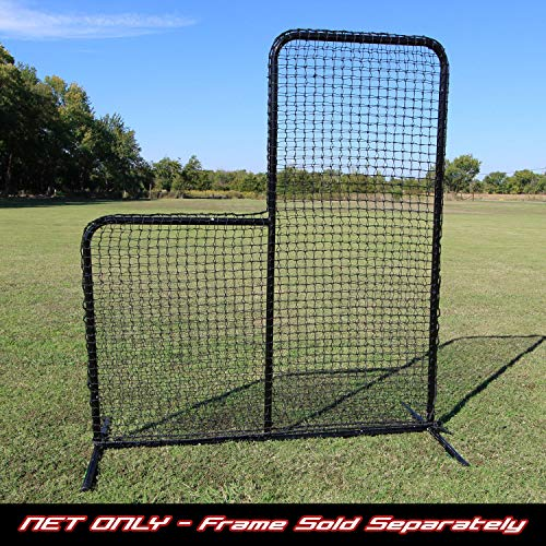 Cimarron 7' x 6' #42 Replacement Net (for use with Baseball / Softball L-Net Pitching Screen)