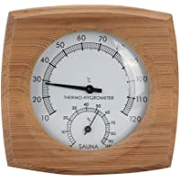 Thermometer Hygrometer, Thermo-Hygrometer, High Temperature Resistant Durable Sturdy And Durable Sauna Room Bathroom…