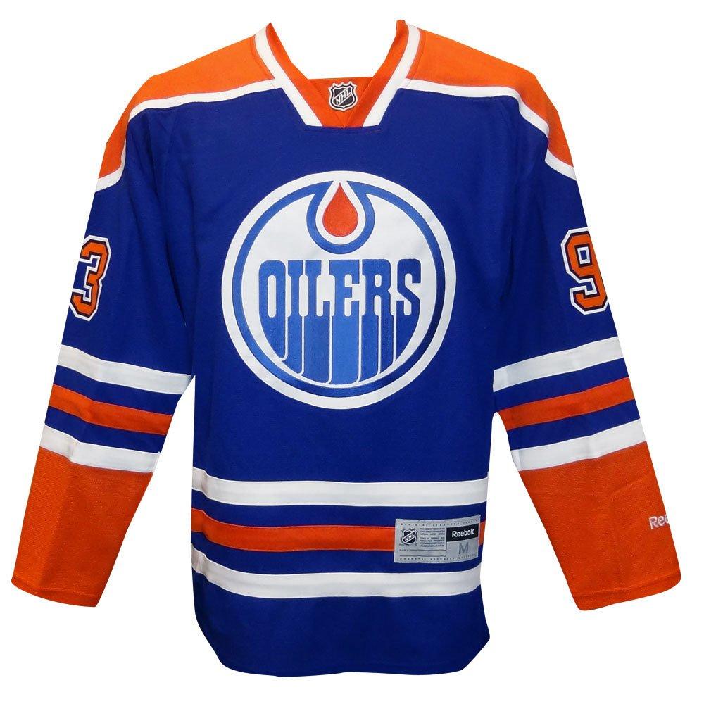 a56f7d838 ... low cost amazon reebok ryan nugent hopkins jersey 93 edmonton oilers  blue premier jersey hockey jerseys
