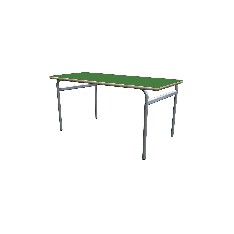 Mobeduc niños Extensible de la Mesa de Estructura, Madera, Color Verde Oscuro, tamaño 1, 200 x 80 x 46 cm