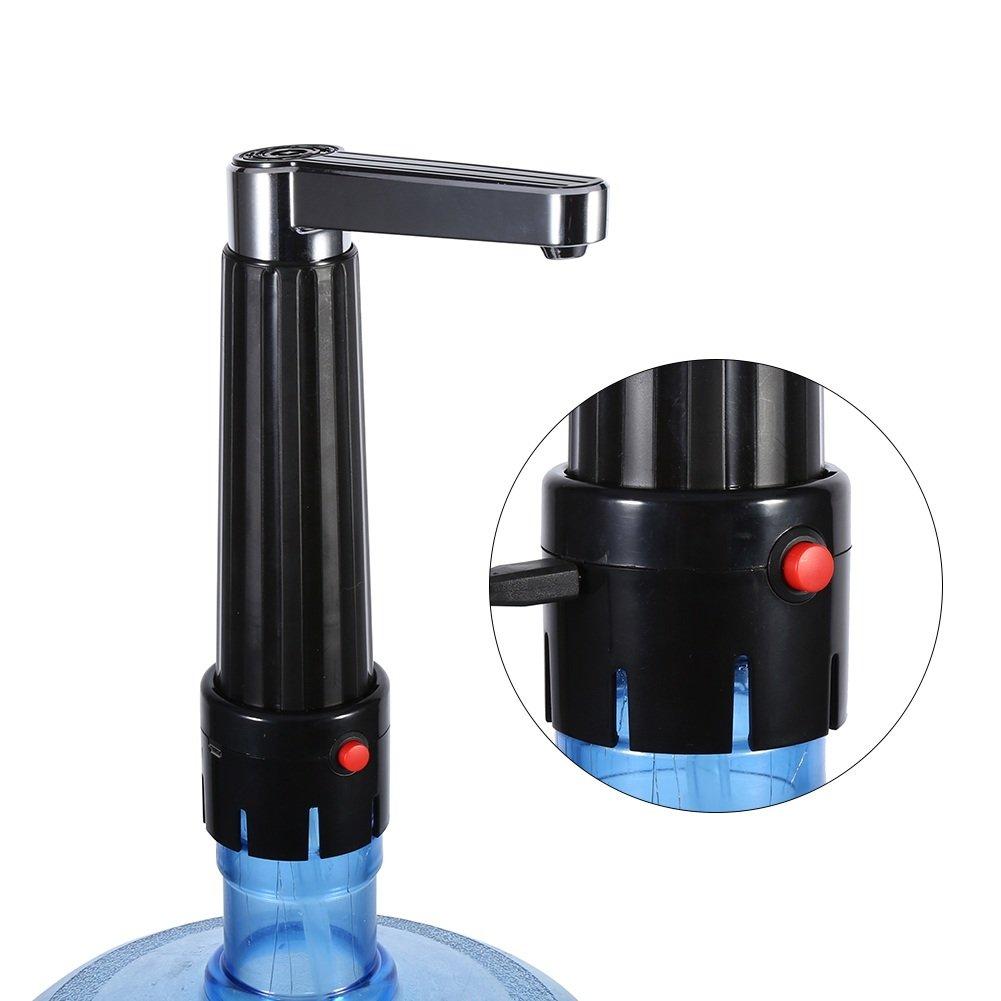 Agua potable eléctrica Presión de botón Bomba Embotellada Dispensador Dispositivo de suministro de agua para el hogar y la oficina: Amazon.es: Hogar