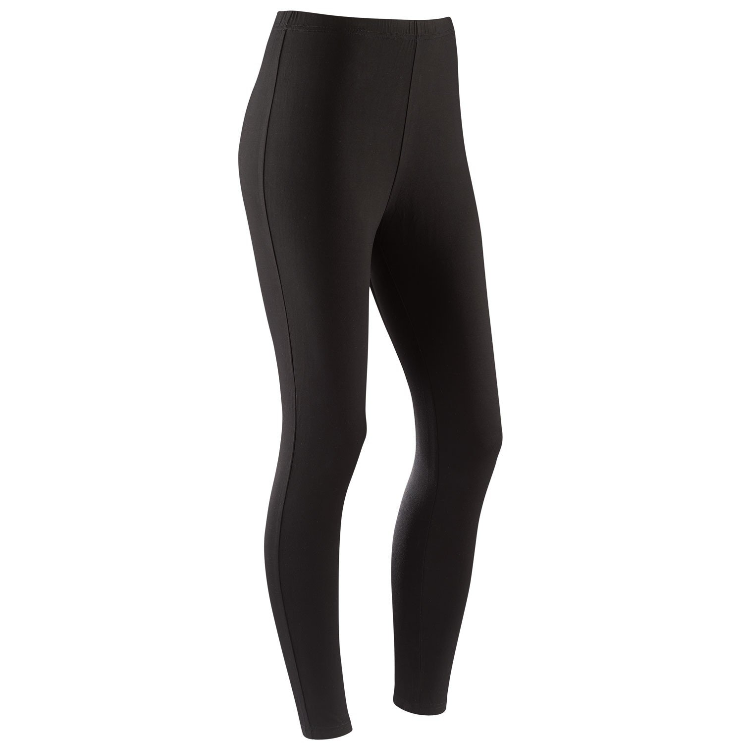 Women's Bamboo Leggings - Super Soft Moisture Wicking Bamboo Fiber - Black - 3X