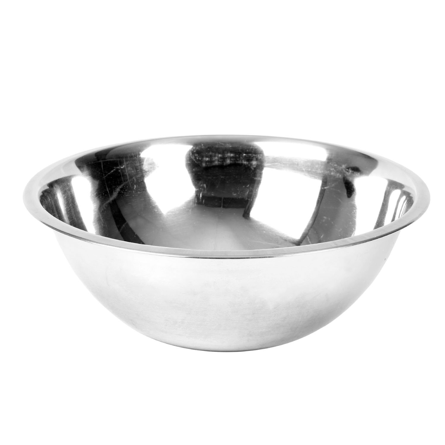 Excellante Mixing Bowl, Heavy Duty, Stainless Steel, 22 gauge, 5 quart, 0.8 mm