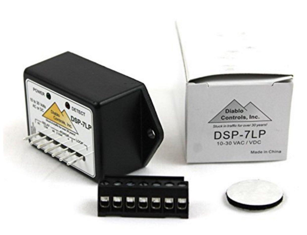 Diablo Controls DSP-7 Microdetector Vehicle Loop Exit Safety Sensor Detector