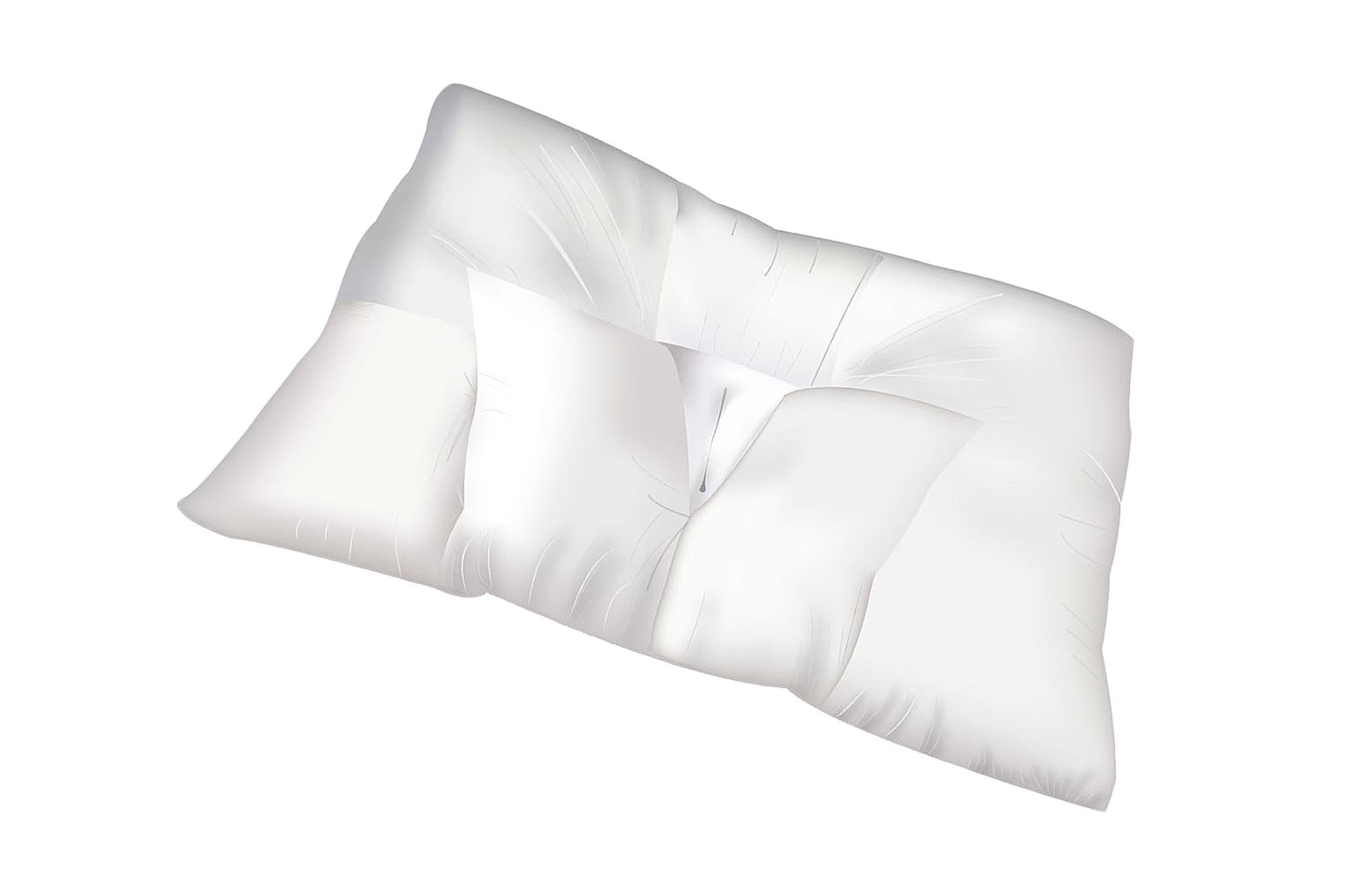 Arc4life Traction Pillows for Sleeping with Pillow Covers - King, Queen, Travel Bed Size Pillows, Side and Back Sleeper with Zip Protectors, Cervical Traction (Large: 28'' x 17'')
