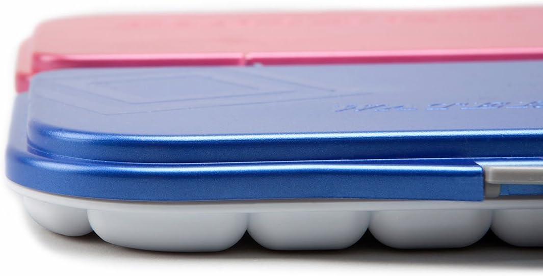 Mijello Martin ermetico acquerello 18-well Blue palette 2/pz 4B matita arte x 2/Gift