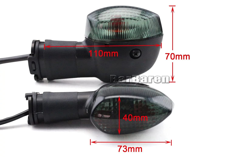 Turn Signals Indicator Light For Yamaha YZF-R1 2002-2008 YZF-R6 2003-2005