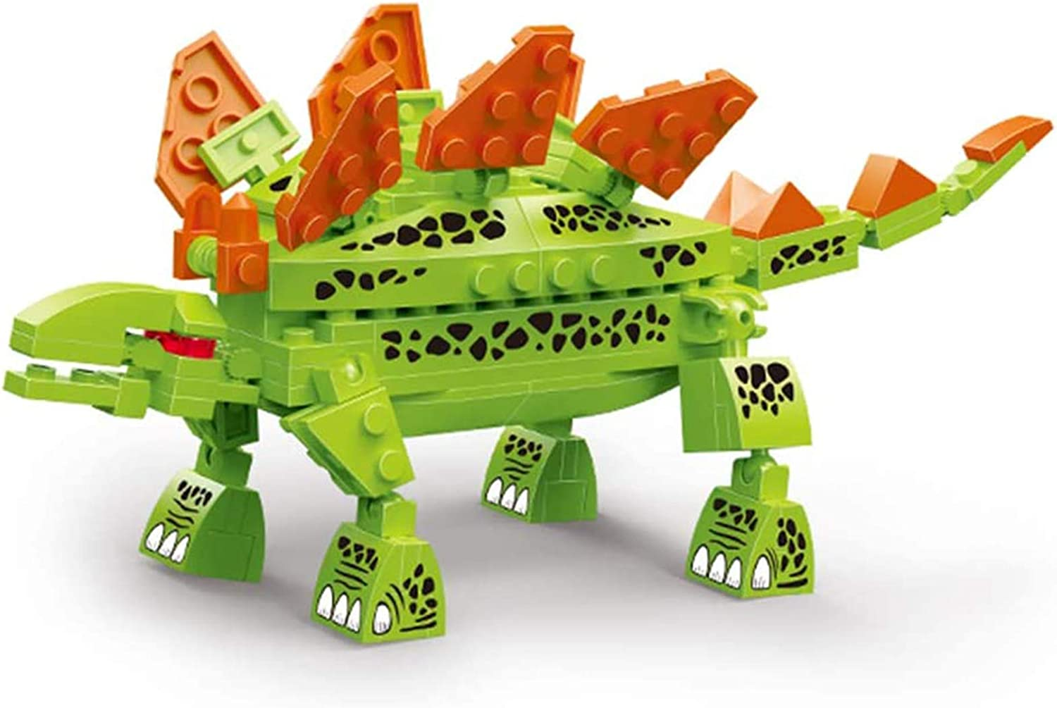Dinosaurs Building sets ,Creator Mighty Stegosaurus Dinosaurs Kit for Kids,Festive Features, Gifts for boys and girls