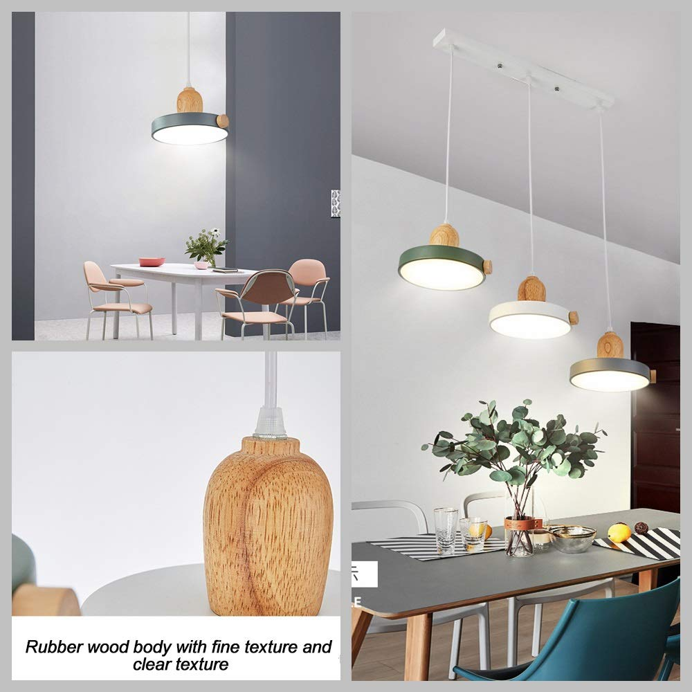 Amazon.com: Modern LED Chandeliers, Nordic Grey/Green/White ...