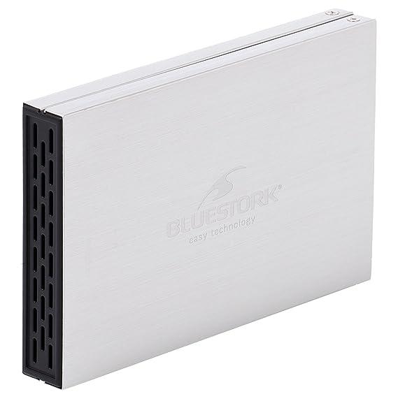 Bluestork BS-EHD-25/SU30/F - Carcasa Disco Duro (Externa USB 3.0 para Discos Duros SATA de 2,5