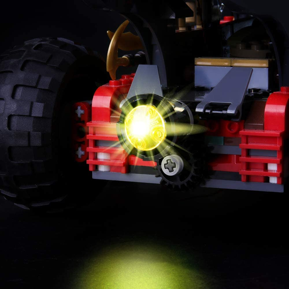 BRIKSMAX Led Lighting Kit for Land Bounty Compatible with Lego Ninjajo 70677 Building Blocks Model Not Include The Lego Set
