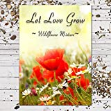 """25 Wildflower Seed Packet Favors """"Let Love Grow"""" (F08)"""