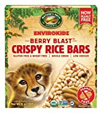 Envirokidz Organic Gluten-Free Crispy Rice Bars, Cheetah Berry Blast, 6 Ounce (Pack of 6)