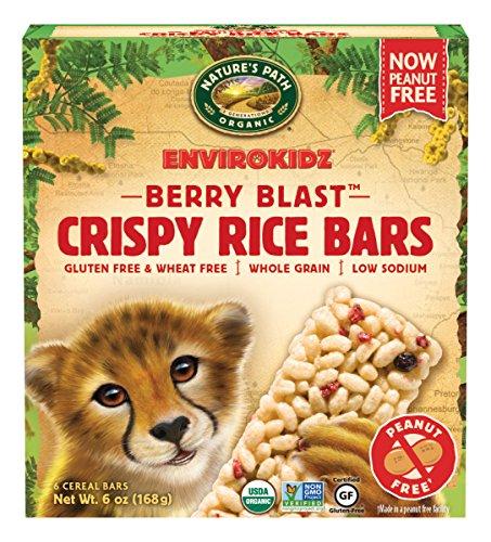 EnvirokidzOrganic Gluten-Free Crispy Rice Bars