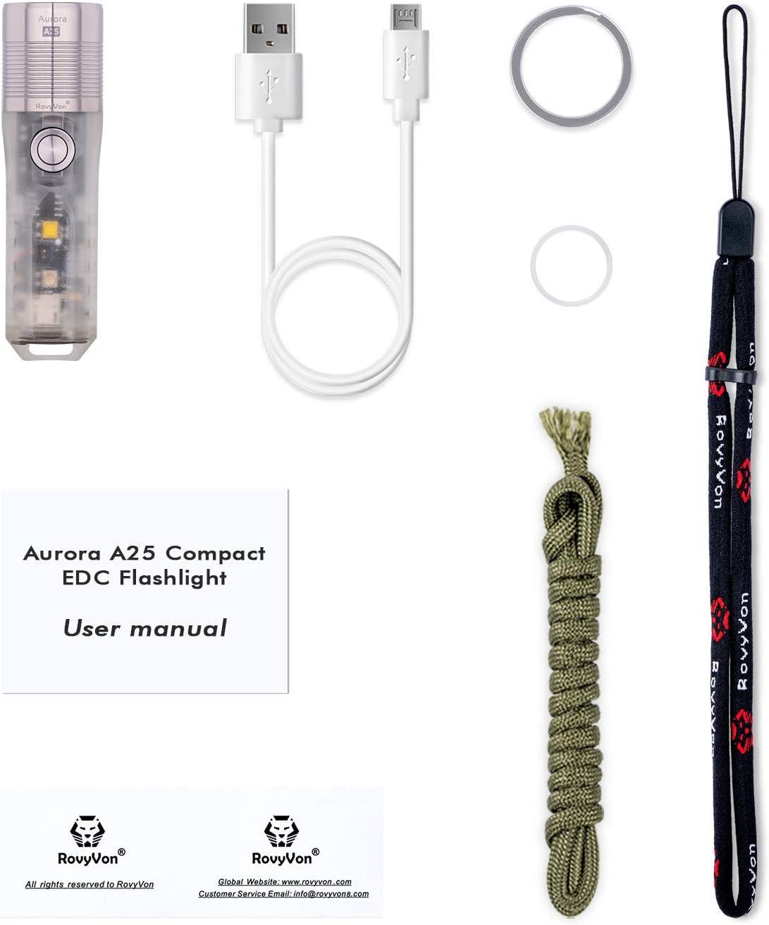 Linterna UV RovyVon Aurora A25