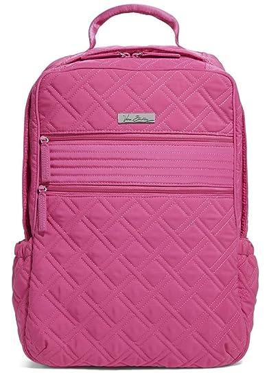 6bae771896b8 Amazon.com  Vera Bradley Women s Tech Backpack Fuchsia One Size  Shoes