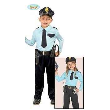 NET TOYS Disfraz Infantil Policía - 5 - 6 años, 110 - 115 cm ...