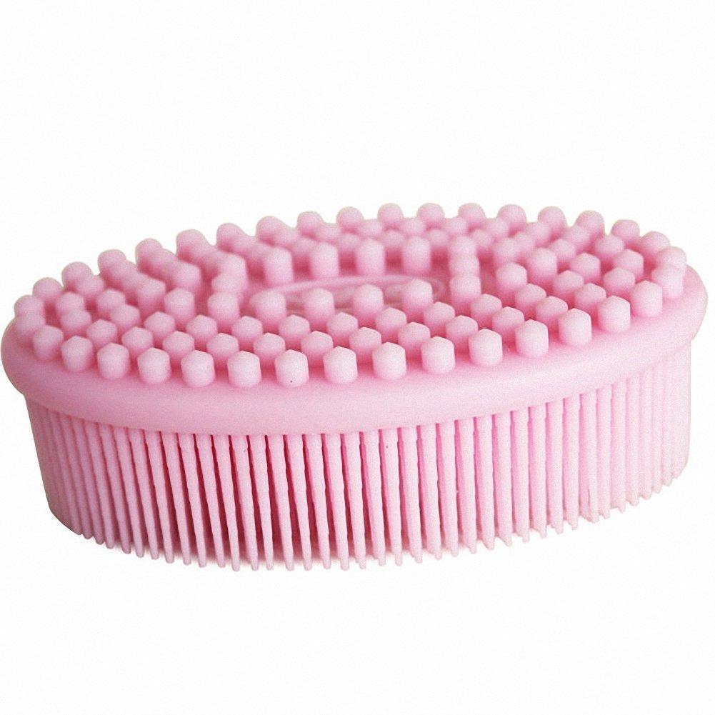 Affe Silikon Baby Bü rste Kamm Kinder Multi Dusche Bad Shampoo Kopfhaut Massage ZGJ