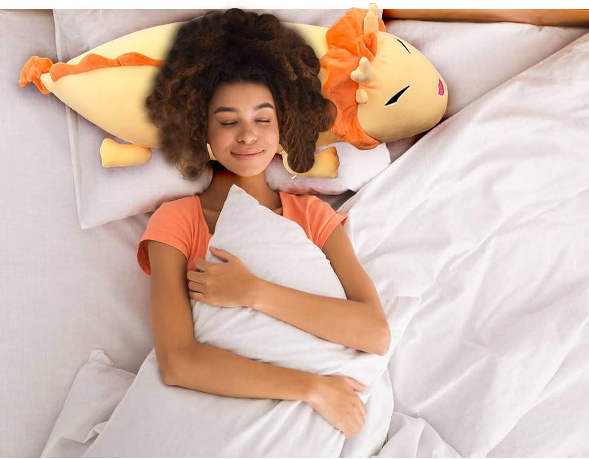 Soft Giant Dragon Pillow Home Decoration Christmas Birthday Gift for Adults Kids Girls Boys Dragon Stuffed Animals Doll Toy 36//44//52//60 Inches,3 Colors Hofun4U Dragon Plush Pillow