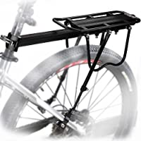 MAIKEHIGH Verstelbare drager fiets bagagedrager fietsaccessoires standaard rijstok fietsendrager rekken met reflector