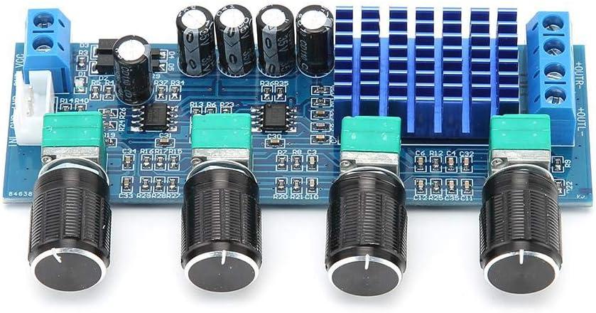 M577 Digital Audio Amplifier Board Dual 80W High Power Double Sound Channels Stereo Audio Speaker Amplifier Module