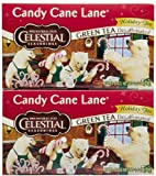 Celestial Seasonings Candy Cane Decaf Green Tea Bags, 20 ct, 2 pk