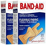 Best Adhesive Bandages - Band-Aid Flexible Fabric Adhesive Bandages, Knuckle and Fingertip Review