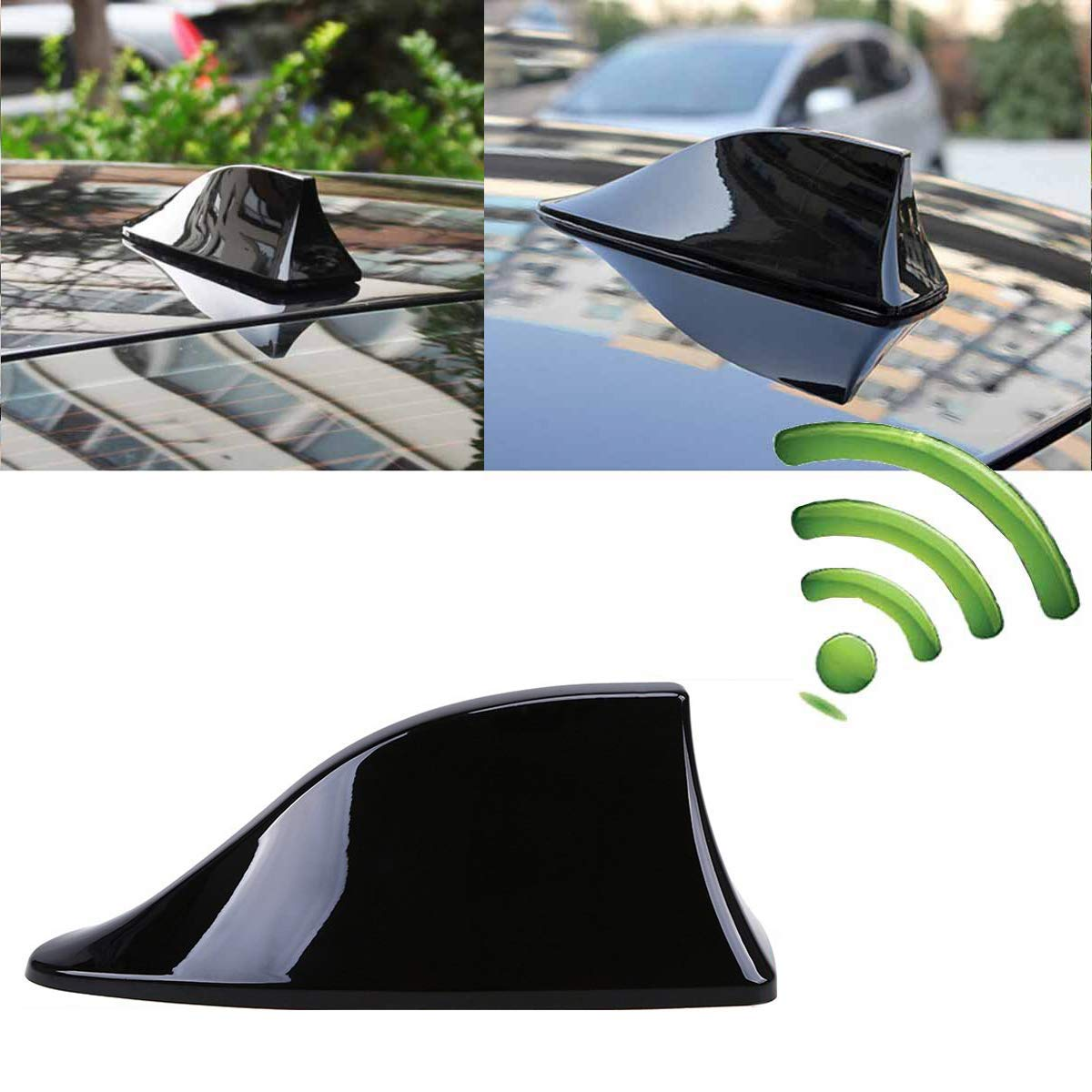 Universal Car Antenna Aerial Shark Fin AM/FM