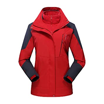 Zhhlaixing 3-in-1 Jacket Pairs a Waterproof Breathable ...
