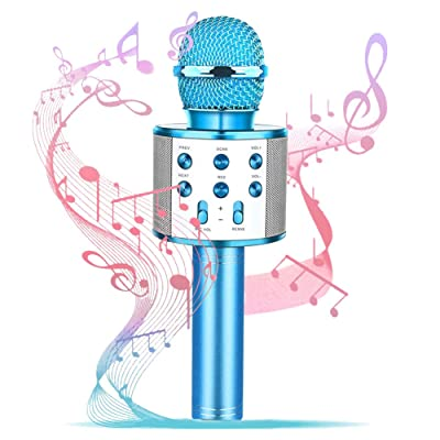 Girl Birthday Gift Toy,Best Gift Present for Girl Kid Boy Age 5 6 7 8 9 10 11 12 Years Old,Wireless Bluetooth Microphone Karaoke, Fun Toys for Teen Girls Boys Children Home Party: Toys & Games